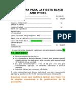 Proforma Para La Fiesta Black and White Corregida