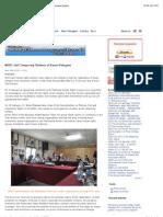 """""""NHRC visit Temporary Shelters of Karen Refugees """""""
