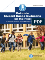 Colorado Student-Based Budgeting on the Rise
