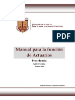 Manual Actuarios 2010 Chiapas
