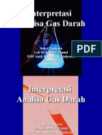 Interpretasi Analisis Gas Darah