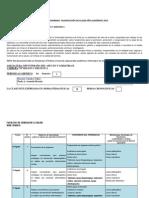 CRONOGRAMA Dietoterapia Del Adulto II 2015