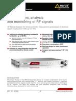 NRA 6000 RX Datasheet