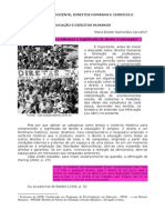 Formação Docente, Direitos Humanos e Curriculo
