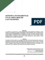 ESTÉTICA Y NACIONES-REVISTA DE CIENCIA POLÍTICA, No. 28, Séxta Época, Septiembre-Diciembre, 2001