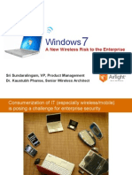 Windows 7-A new wireless risk to your enterprise