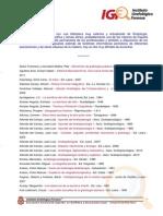 Bibliografia de Igf