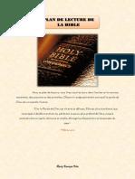 Lecteur de La Bible