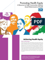 cdc health equity