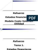 Refuerzo Estados Financieros y Modelo Costo Volumen Utilidad