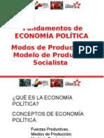 Economía Política Modos de Producción