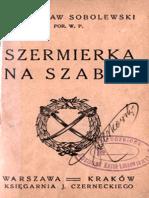 Polish Sabre Fencing - Wladyslaw Sobolewski 1935