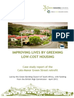 Improving Lives by Greening Low Income Homes Case Study 2012 FINAL