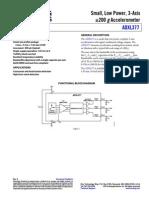 Accelerometer - ADXL377
