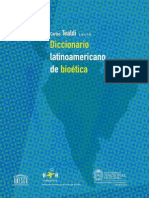 Diccionario Latinoamericano de Bioética- Parte I