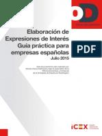 Guia Para La Elaboracion de Expresiones de Interés