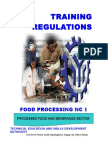 TR - Food Processing NC I Rev