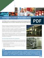 Centro de Servicios Mineros de Santiago - ALS Geoquímica