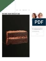 Simple Vegan Chocolate Cake _ Minimalist Baker Recipes
