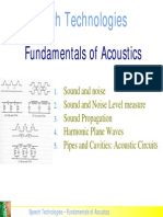 Fundamentals Acoustics