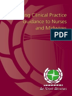 Recording Clinical Practice Guidance to Nurses and Midwives (Nov 2002)