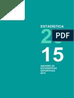 Anuario Deportivas 2015