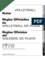 Fivb - Reglas Oficiales de Juego Voley Playa 2009 - 2012