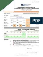 Format Laporan Status Hafazan