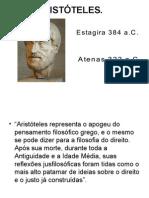 Um relato sobre aristoteles