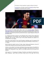 How Thiago Alcantara Will Feature in Pep Guardiola