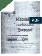 Manual Conducción Racional