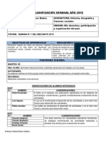 Planifiacion Cuarto Basico 2015 Mayo