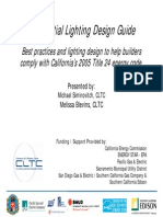 Residential Lighting Design Guide.Best Practices
