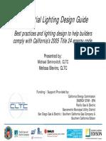 Residential Lighting Design Guide.Best Practices