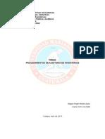 Procedimientos Auditoria de Inventarios