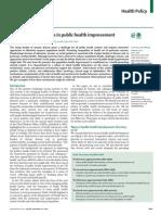 A New Wave on Public Health Improvement - Lancet