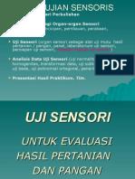 Uji Sensori