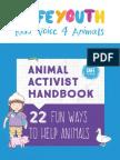 Animal Activist Handbook - 22 Fun Ways to Help Animals