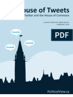 Twitter and the House of Commons