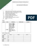 Micro Processor Lab Manual