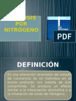 Narcosis Por Nitrógeno