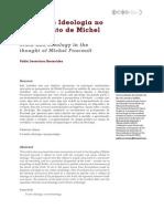 BENEVIDES - Verdade e Ideologia No Pensamento de Foucault