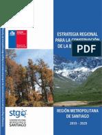 Estrategia Regional Para La Conservacion de La Biodiversidad RMS 2015-2024, 2014