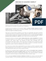 Tutorial Convertidor Catalitico Automotor