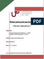 Informe Laboratorio 1 Telecomunicaciones