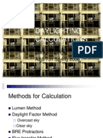 Daylighting CALCULATIONS._Kroelinger, Mike