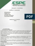 Contrato de Agencia