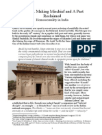 NHH 12 Making Mischief and a Past Reclaimed - Homosexuality in India
