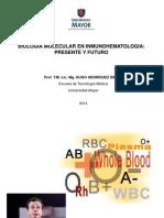 Biologia Molecular en Inmunohematologia
