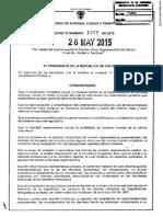 Decreto 1077 de 2015 Vivienda